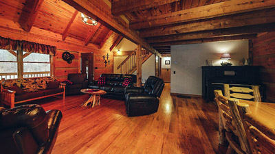 Lonesome Holler Living Room Dinning Room - Living Room Dinning Room