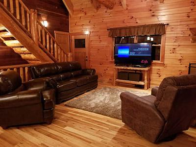 Honeysuckle Ridge Living Room - Living Room