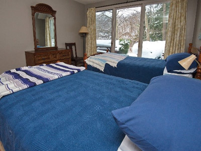 2 Twin Beds  - Twin Beds, with sheets, blankets and pillows included.