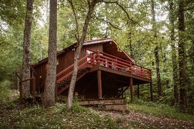 Exterior View Blue Cabin - Exterior View Blue Cabin