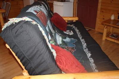Cuddles Cabin - Brand new queen size futon sofa