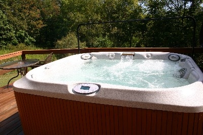We Love Our Hot Tubs - Each cabin, cottage, or lodge has a clean well cared for Hot Tub.