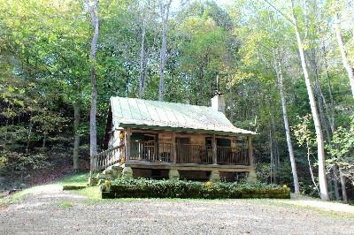 Pioneer - This 1800 log cabin is completely secluded.  It sits on 70 acres with plenty of hiking trails and fishing pond.