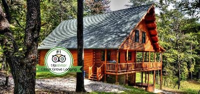 Luxury Lodges - Cedar Grove Lodging has 3 luxury lodges accommodating 19-26 guests each. Have an even larger group Our Cedar Grove Retreat property has 2 large lodges and 6 cozy cabins accommodating up to 81 guests.