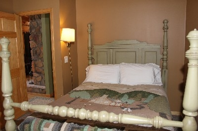 Bedroom - One of two bedrooms that each include a queen bed.