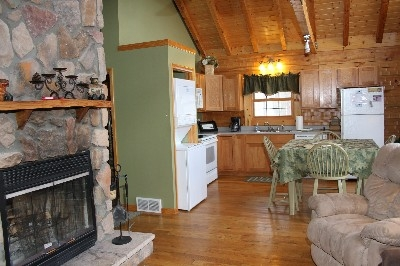 Kitchen - Kitchen is fully equipped and also includes a stacked washer and dryer.