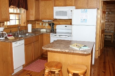 Kitchen - Fully equipped kitchen. Includes all pots, pans, dishes, etc.
