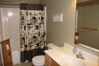 Bathroom - Includes two full size bathrooms.