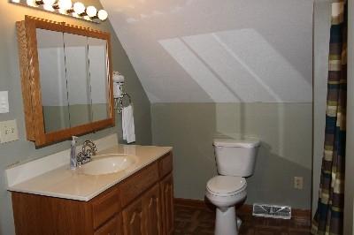 Bathroom - Full size bathroom.