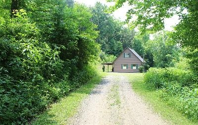 Rush Creek Cottage - Located down a private lane.