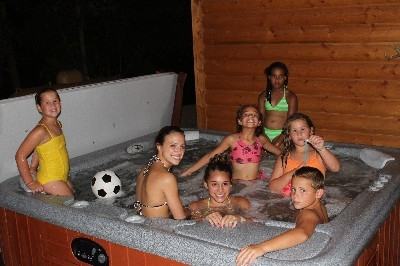 10 Person Hot Tub - This Hot Springs Tub is perfect for the whole gang