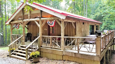 Moore Hollow Cabin - Moore Hollow is located in a perfect setting, just one mile from Conkle