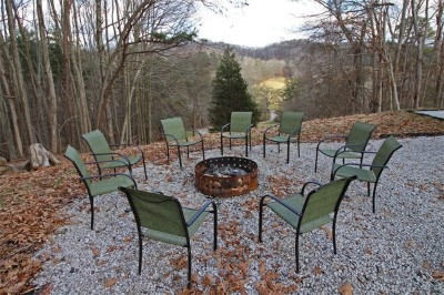Outdoor Fire Ring - Bring your own firewood.