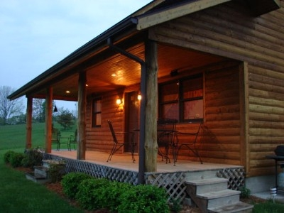 Highlands cabin - Sleeps up to 6, pond, close to Old Mans Cave.