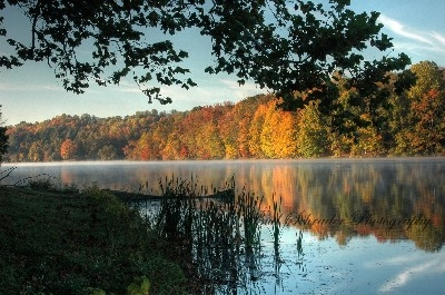 Fall Morning, Lake Logan - Another fall drive that yields marvelous views. Nothing like it!