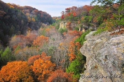 The Rim In Fall, Conkles Hollow - This can be overwhelmingly beautiful in the fall. Watch your step! I