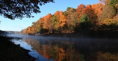 Rose Lake in Fall