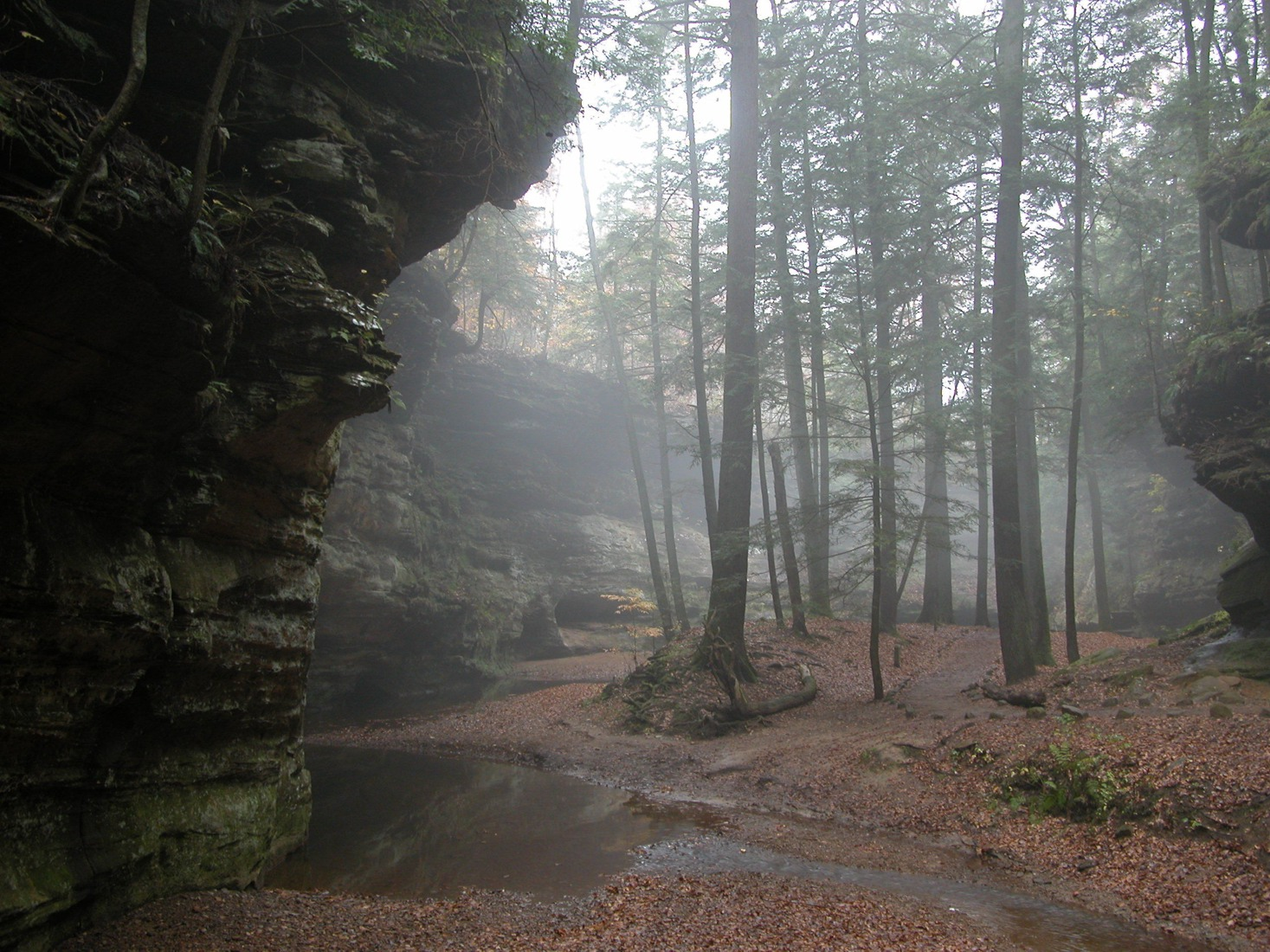 Classic Man Cave Park : Old man s cave at hocking hills state park
