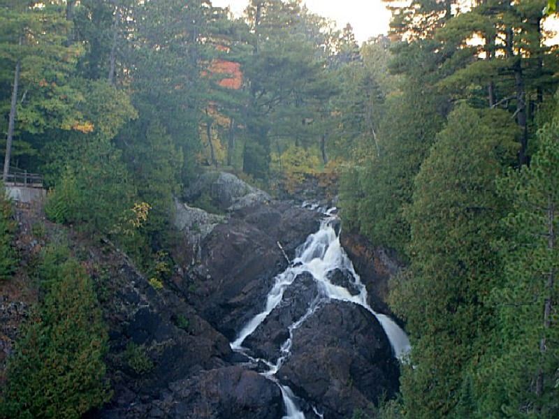 Pattison State Park A Wisconsin Located Near Superior: Pattison State Park Map At Usa Maps