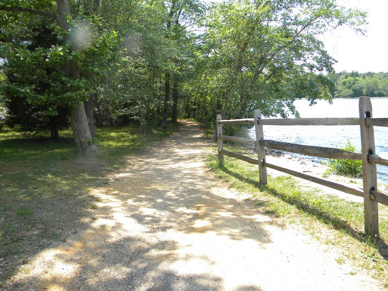 Parvin State Park, A New Jersey Park Located Near Berlin, Bridgeton And  Elmer