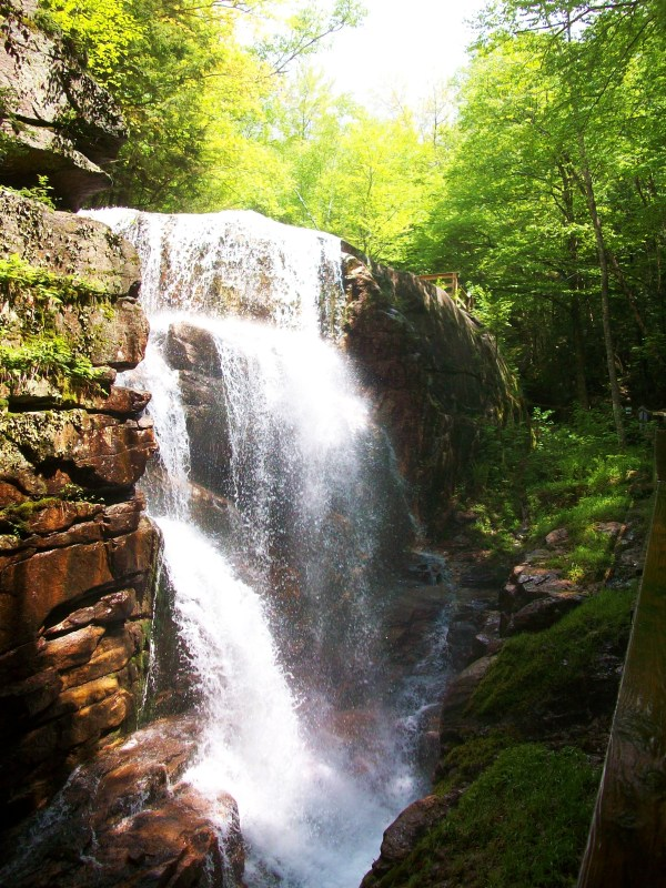North Park Lincoln >> Franconia Notch State Park, a New Hampshire State Park