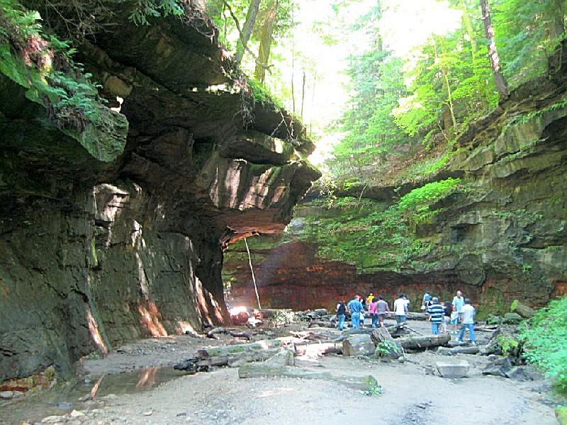 Turkey Run State Park An Indiana State Park Located Near