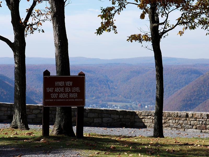 Hyner run state park a pennsylvania park located near for Susquehanna state park cabins