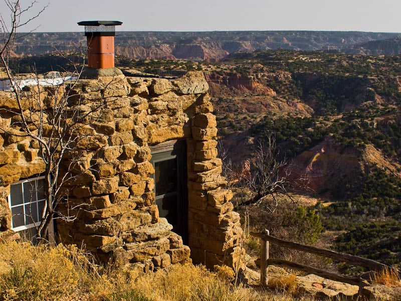 Palo duro state park a texas state park located near for Cabins near palo duro canyon state park