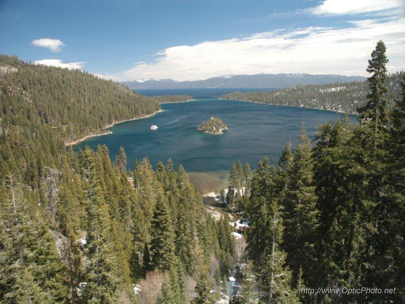 Emerald Bay State Park, a California State Park located near