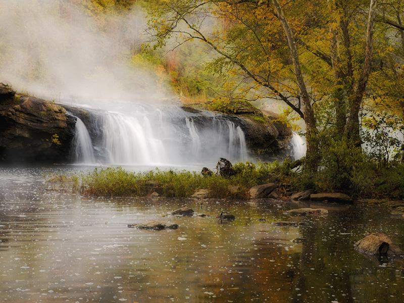 Camp Creek Wv >> Sandstone Falls State Park, a West Virginia State Park ...