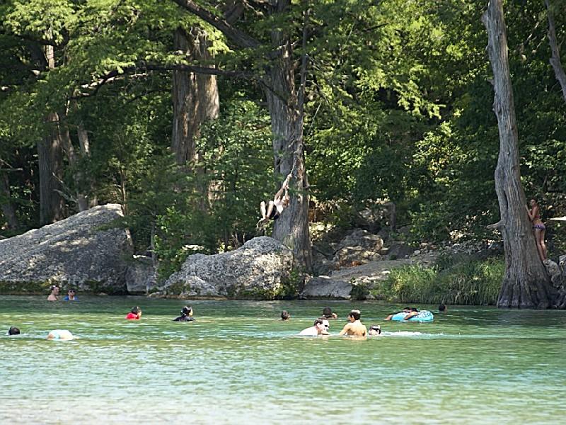 Garner State Park, a Texas State Park located near Uvalde