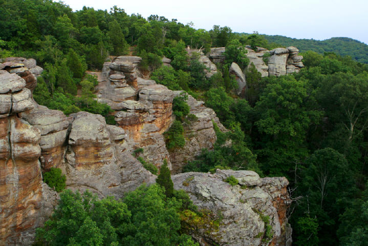 Shawnee National Forest An Illinois National Forest