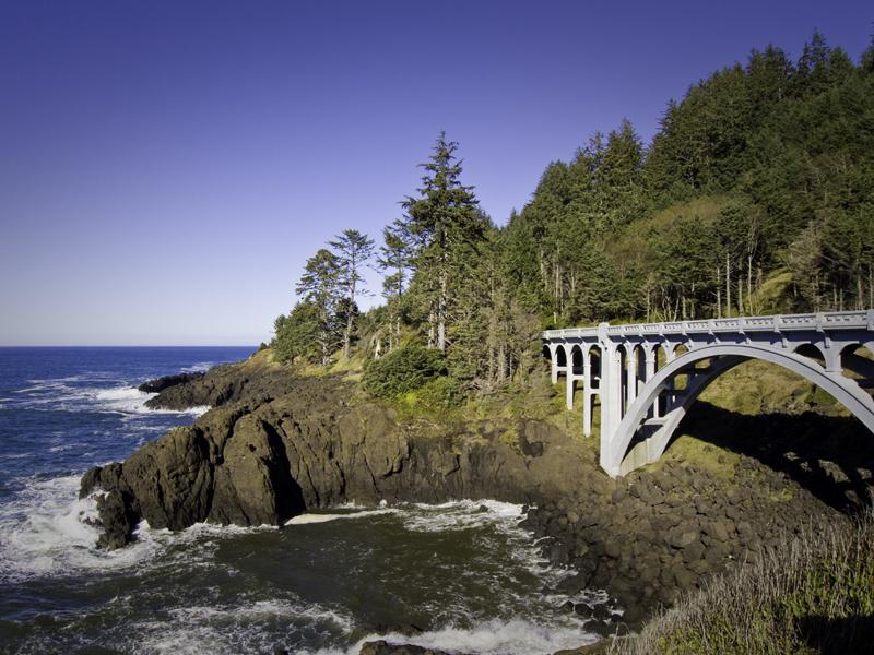 Depoe Bay Wayside Ocean State Park An Oregon State Park