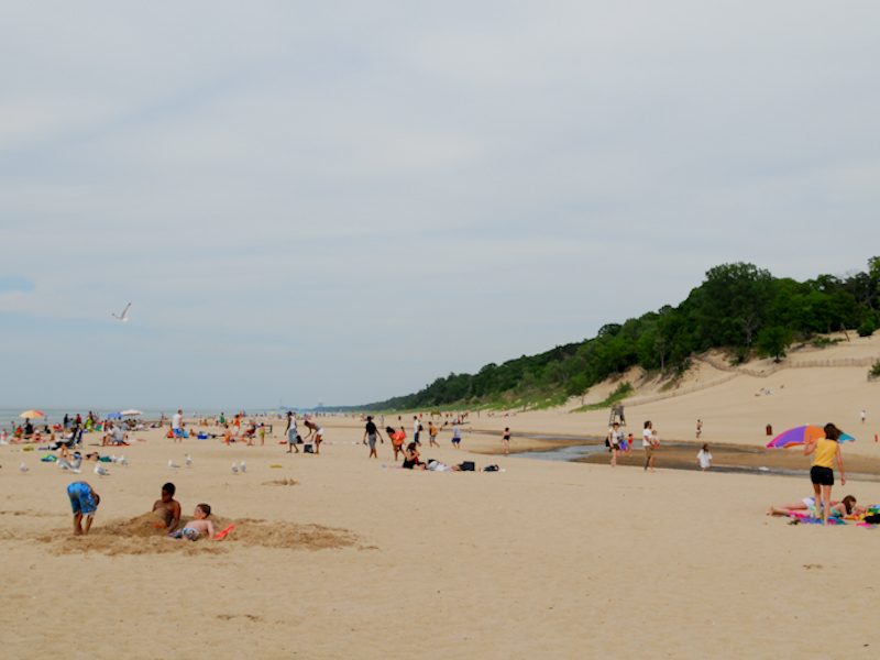 Indiana Dunes State Park An Located Near Chesterton Gary And Hobart