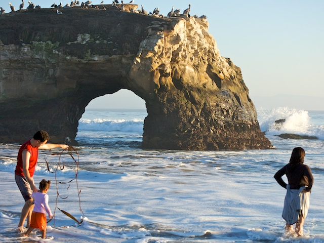 Natural Bridges Beach State Park A California Located Near Zmudowski