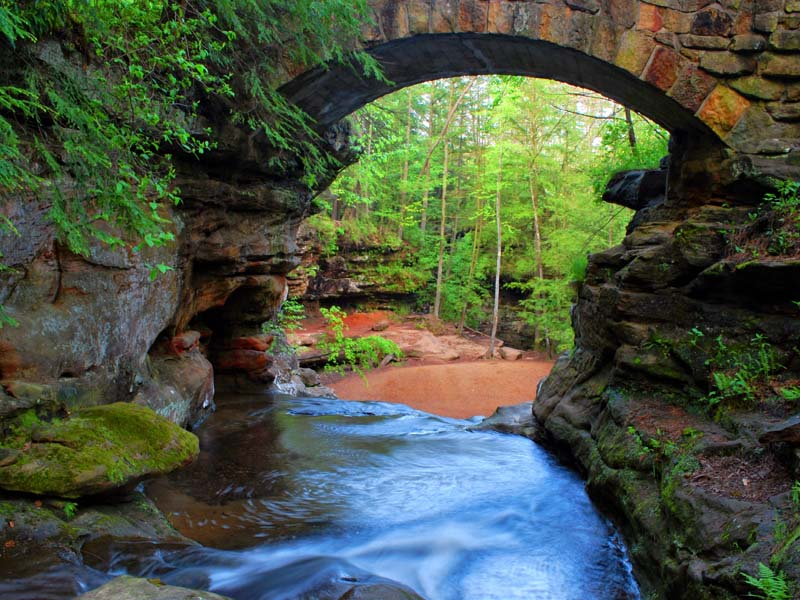 Hocking Hills State Park An Ohio Park Located Near