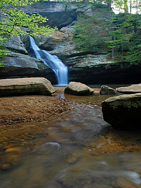 Hocking Hills State Park, an Ohio State Park located near