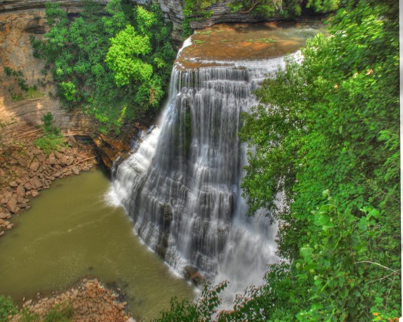 Parks Of The Cumberland Plateau Region In Tennessee