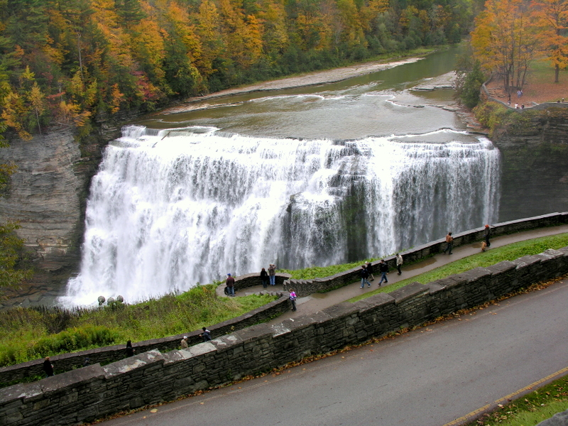 Letchworth state park a new york state park located near - Letchworth state park swimming pool ...