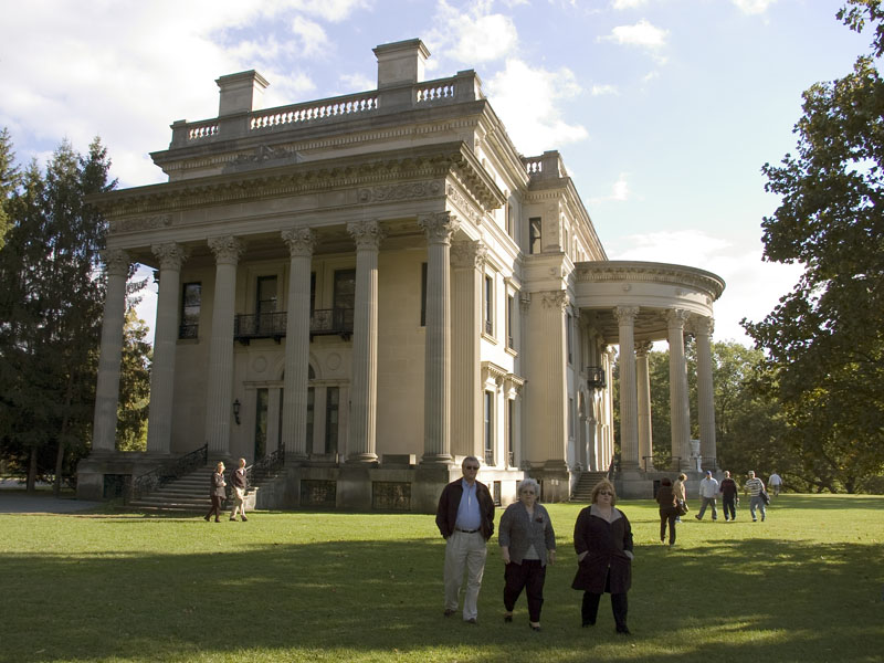 Vanderbilt mansion national historic site a new york for Old new york mansions