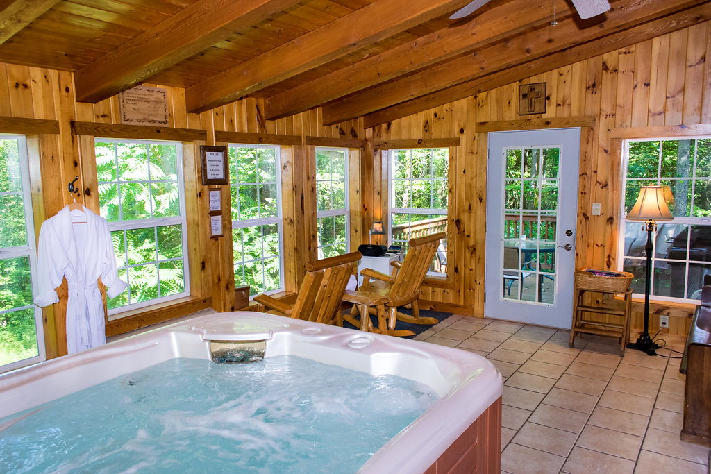... Indoor Hot Tub ...