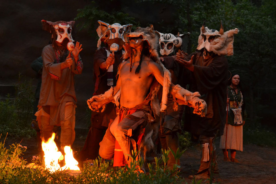 Tecumseh Outdoor Drama Hocking Hills Outdoor Drama
