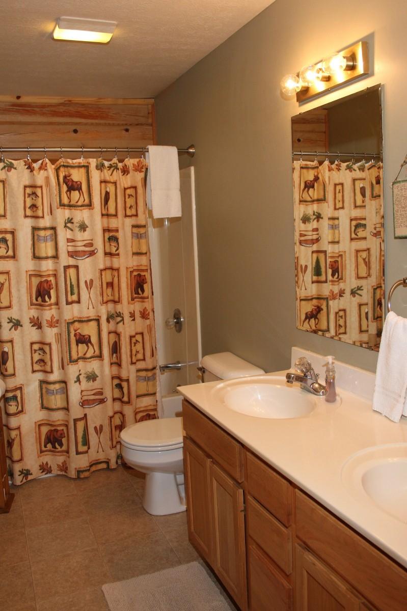 Bathroom - One of two full bathrooms.