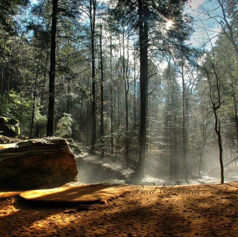 Amazing Com: Ash Cave At Hocking Hills State Park