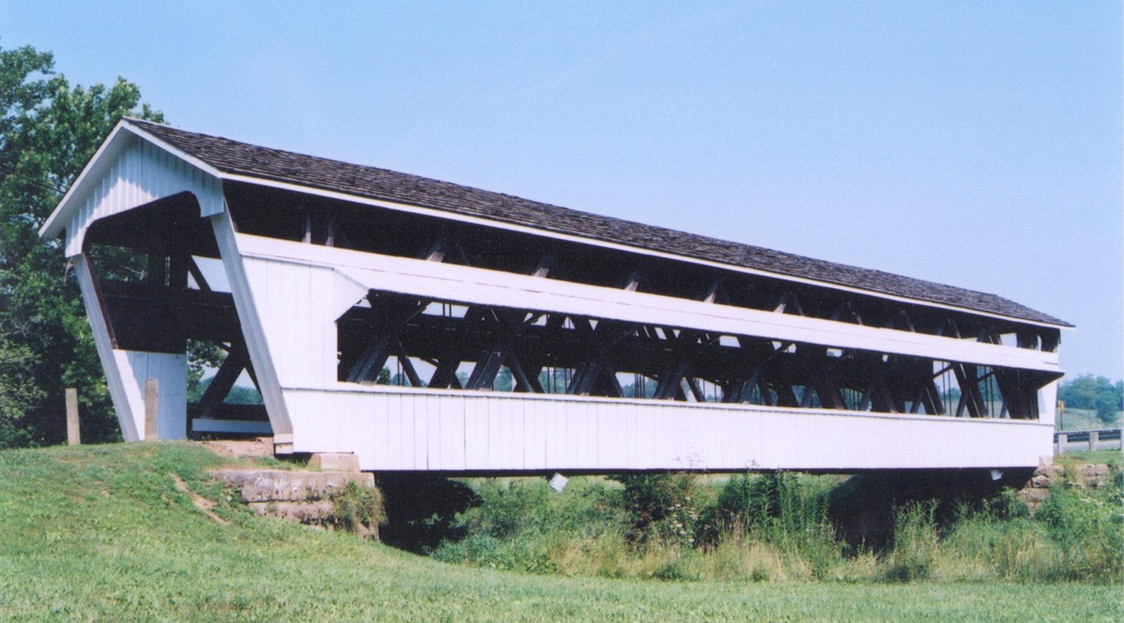 Clear Creek Metro Park In The Hocking Hills Region Of Ohio