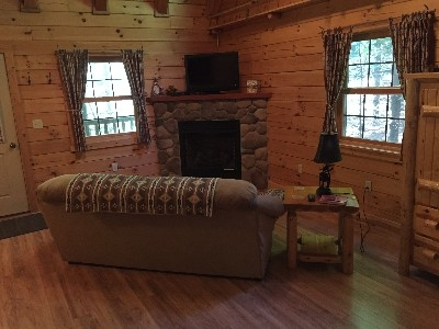 Chicory Cabin - Living room