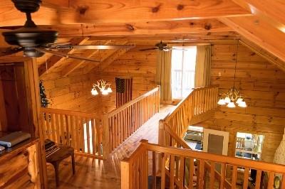 Loft area balconies
