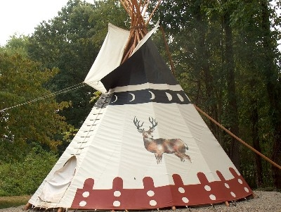 Impressive Tipi Teepee - Measuring in at 26