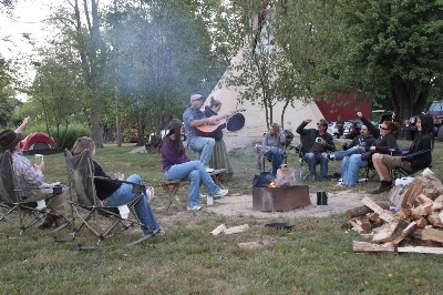 Hocking Hills Tipi Teepee camping - Bring the whole group - people often rent all 3 Tipi