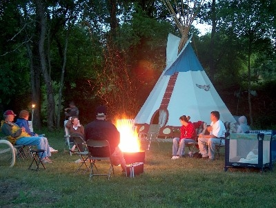 Teepee Camping in Hocking Hills - So much fun for the whole family